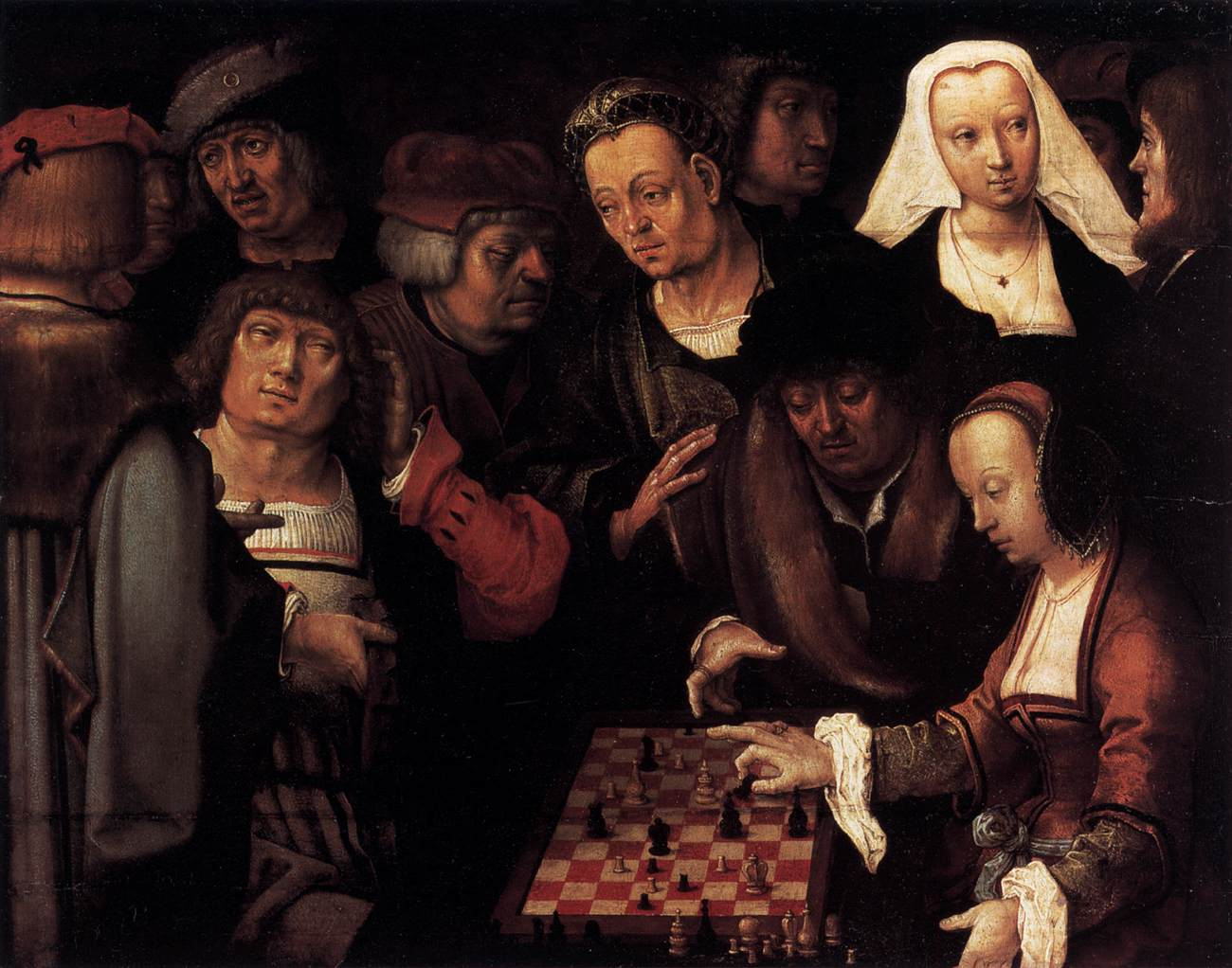 Lucas_van_Leyden_-_The_Game_of_Chess_-_WGA12919